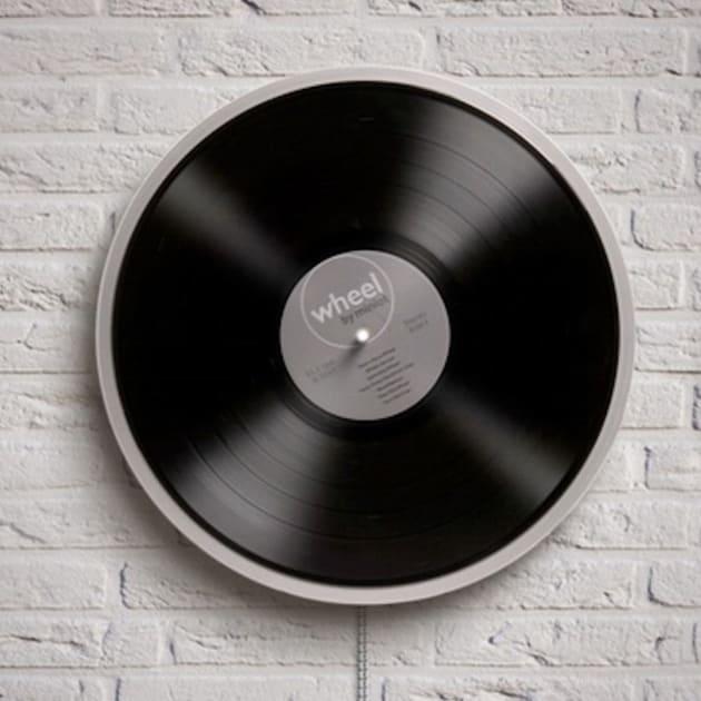 Wheel der minimalistische Plattenspieler