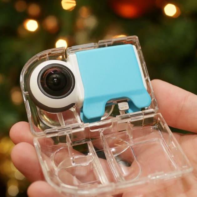 Giroptic 360 Grad HD-Kamera für Smartphones