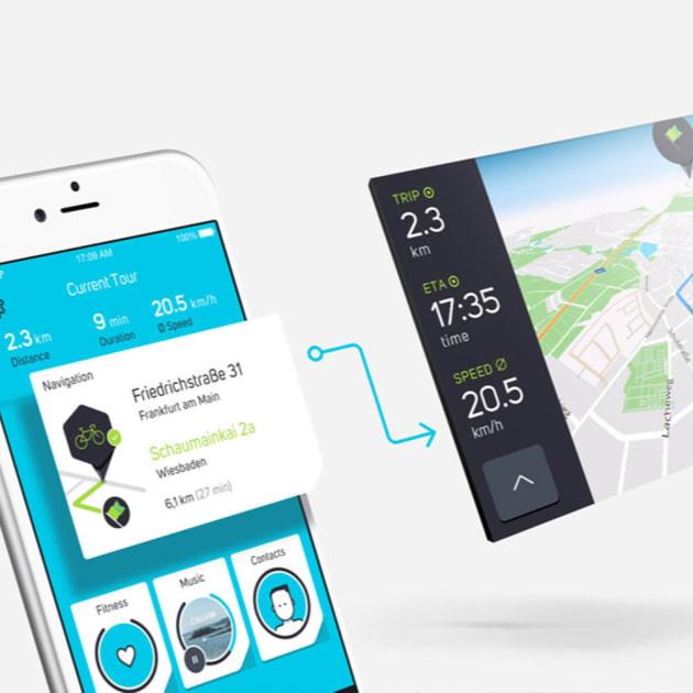 COBI Bike das smarte Connected Biking System