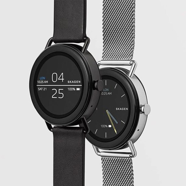 Skagen Smartwatch Falster Android Wear 2.0 Aktivitätstracking
