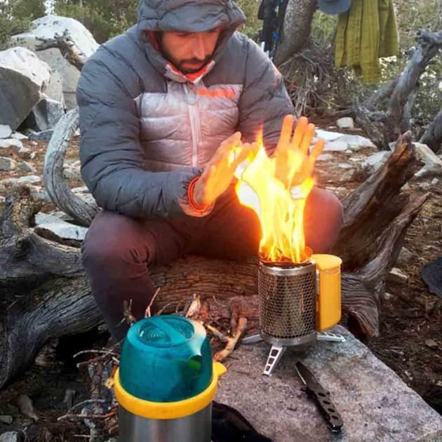 BioLite Camping-Kocher generiert Strom