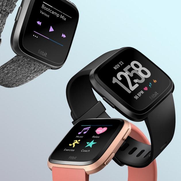 Fitbit Versa Smartwatch Fitness Tracker