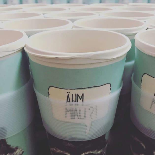 Bambus Mehrweg Kaffeebecher Von Holi Gegen Die Grossen Mullberg Amazcy
