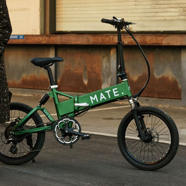 MATE Bike das vollgefederte Elektro Faltrad