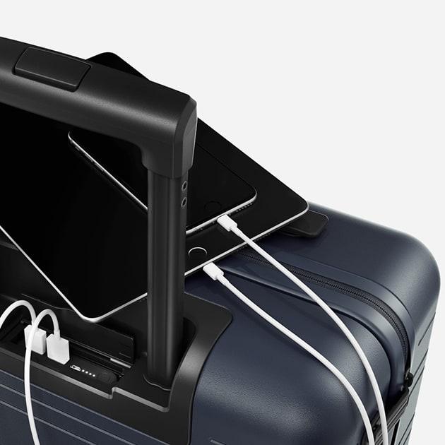 H5 Handgepäckkoffer mit integrierter Powerbank von Horizn Studios