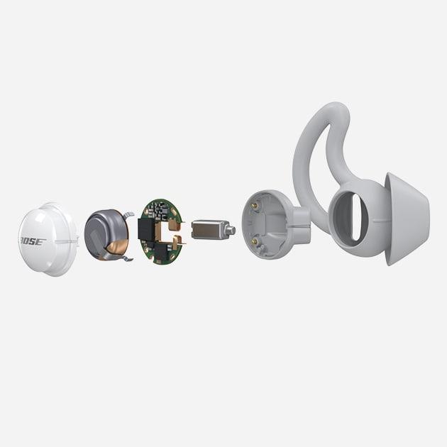Bose noise-masking Sleepbuds, für erholsamen Schlaf