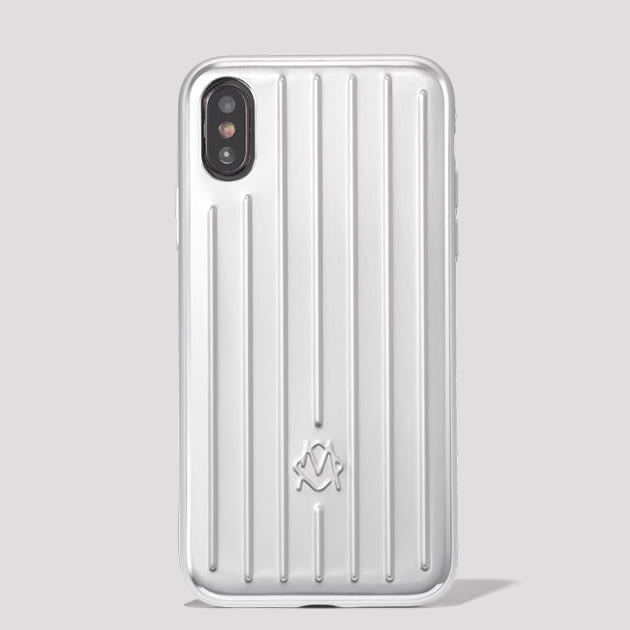 Rimowa iPhone Hülle aus Aluminium