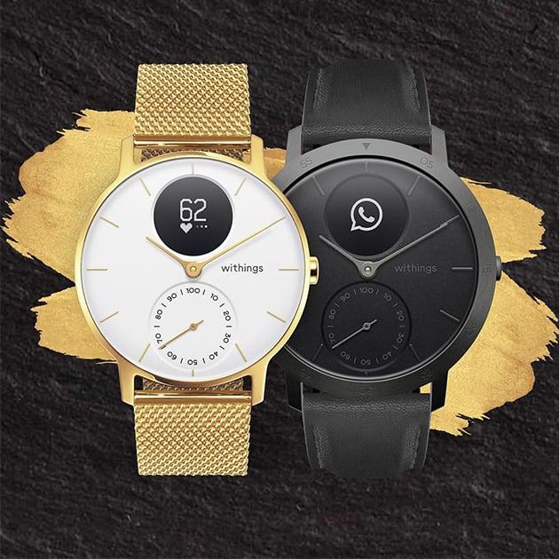 Intelligente Hybrid Smartwatch – limitiere Auflage Steel HR von Withings