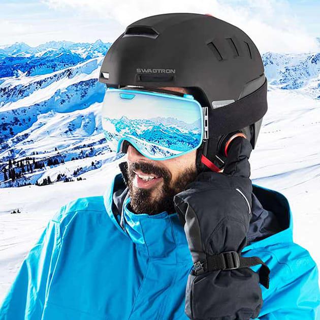 Snowtide, der smarte Ski- und Snowboardhelm