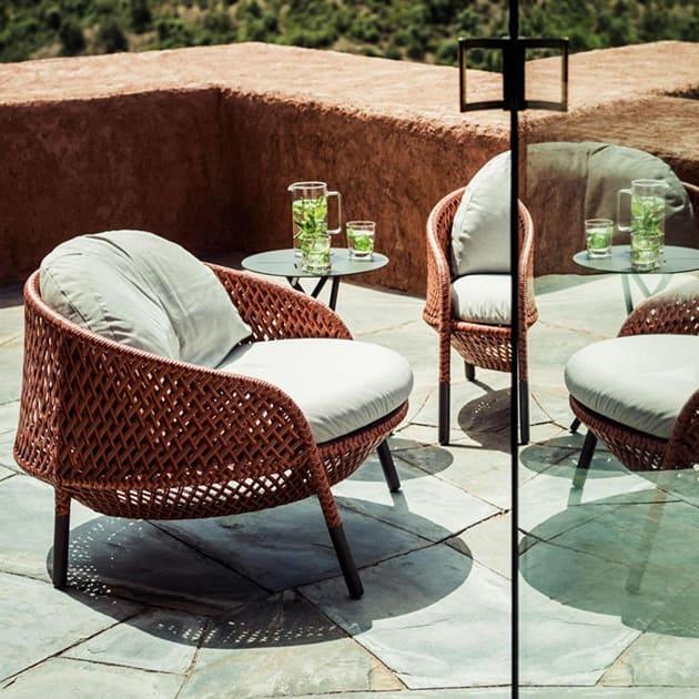 DEDON – Ahnda Sessel für den Outdoorbereich