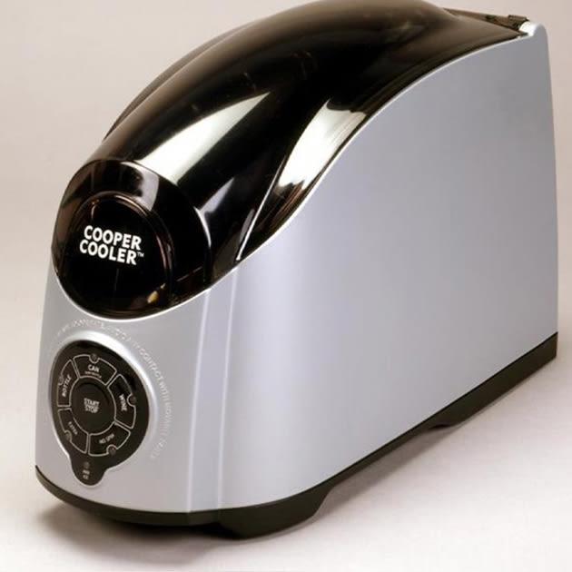 Cooper Cooler – allzeit bereit, kühlt Getränke in kürzester Zeit