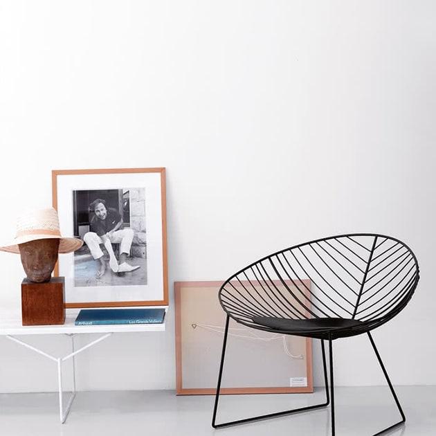 Leaf Lounge Sessel von Arper für Innen- und Außenbereich