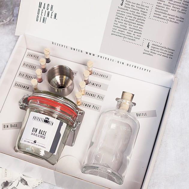 Gin Baukasten – die außergewöhnliche Geschenkidee für Gin-Liebhaber