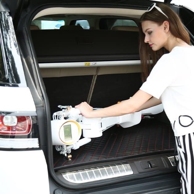 Faltbares Elektro Mofa – der leichte K1 von LEHE für die Straße