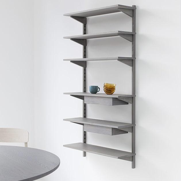 Unit Shelf funktionales Regalsystem von Marina Bautier für STATTMANN