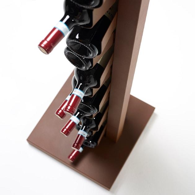 Ptolomeo Vino Standregal von Opinion Ciatti für edle Weinflaschenlagerung