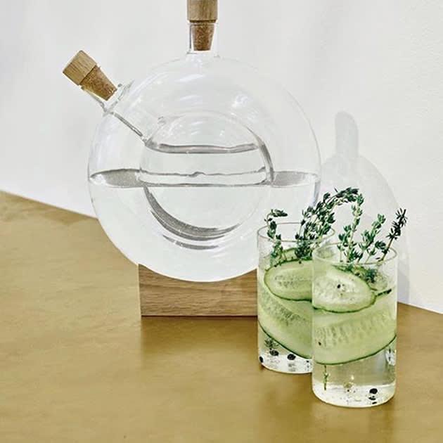 Doppelte Karaffe designed von Eva Harlou
