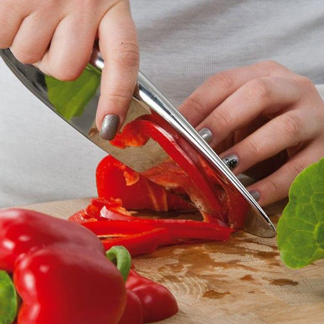 Berkel Messer Primitive aus mattiertem Edelstahl für präziven Schnitt