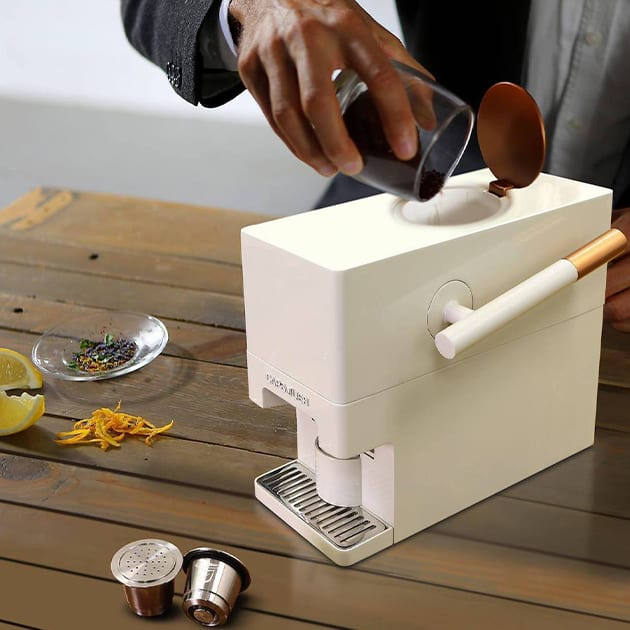 Capsulier Lite – kreiere Deine Kaffe-Kapseln selbst