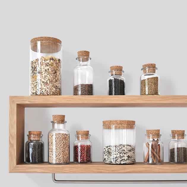 Shortboard – praktisches Küchenregal von chris+ruby in elegantem Design