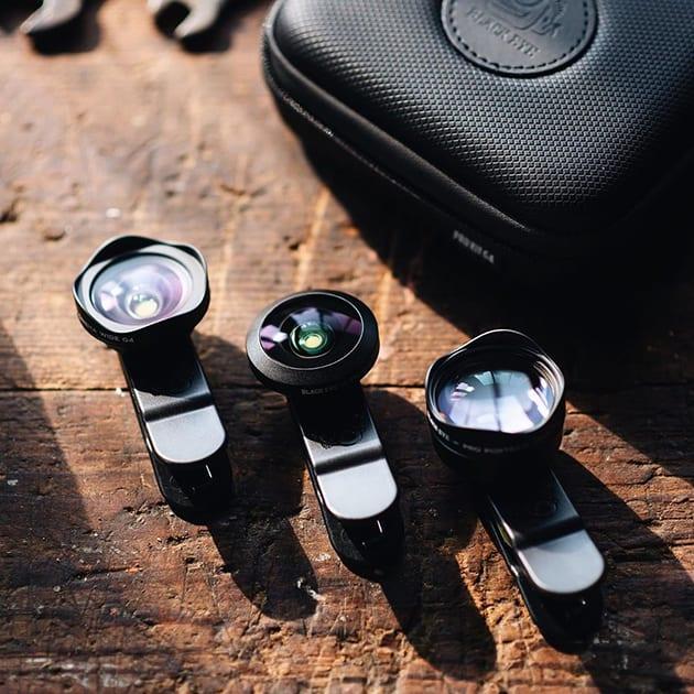 Professionelles Black Eye Cinema Weitwinkelobjektiv für das Handy