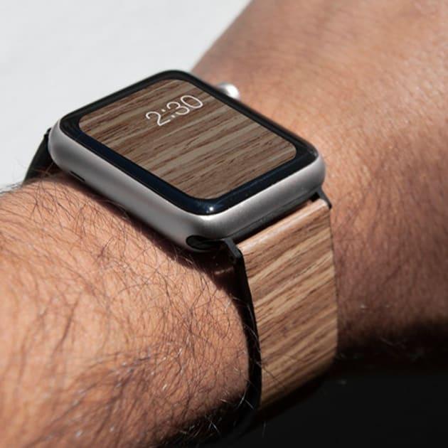 Bandly Holzarmband für Apple Watch, Fitbit und mehr