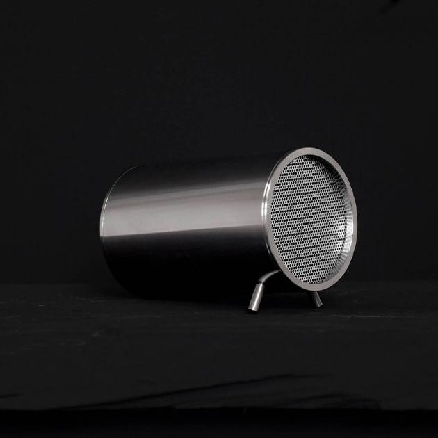 Leff Amsterdam Lautsprecher 'Tube'  für den Nachttisch