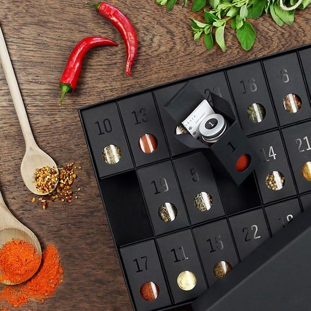 Außergewöhnlicher Gewürz Adventskalender für Genießer und Hobbyköche