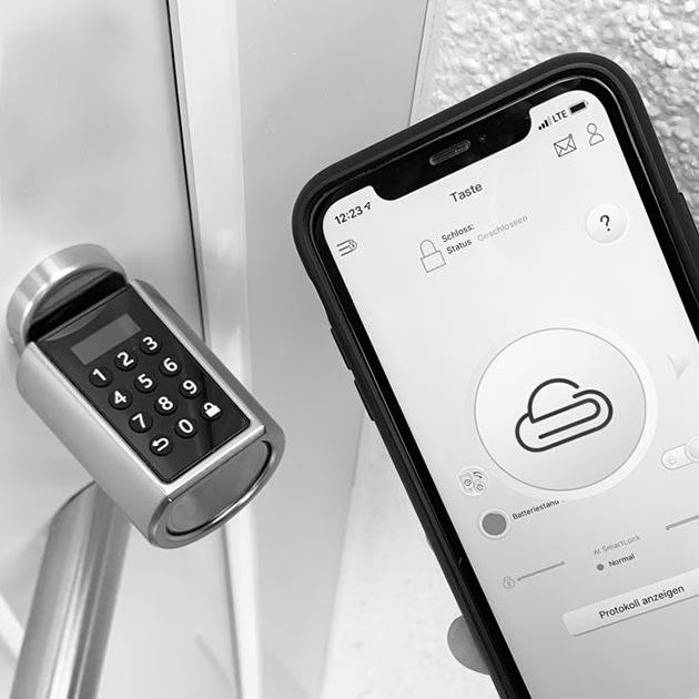 NENOKI Smartlock mit drei Steuerungsmöglichkeiten