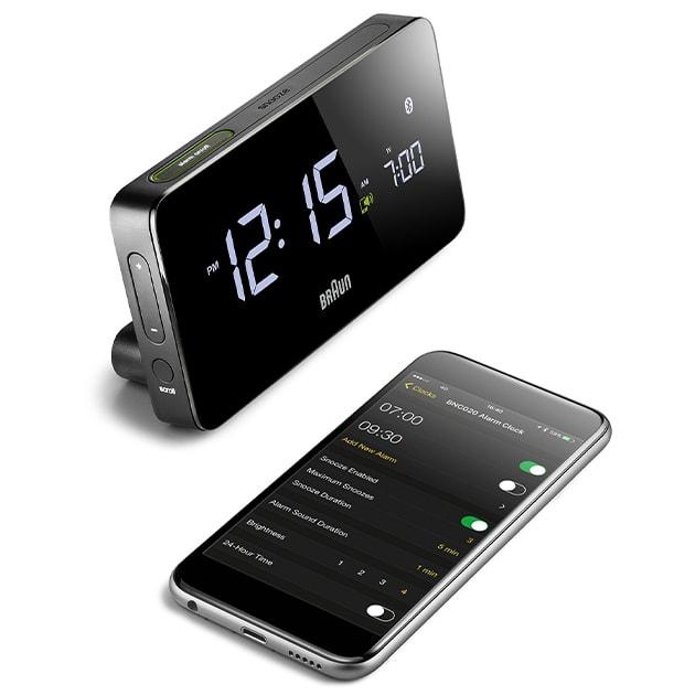 BNC020 – Bluetooth Wecker, Radio und Digitaluhr von Braun