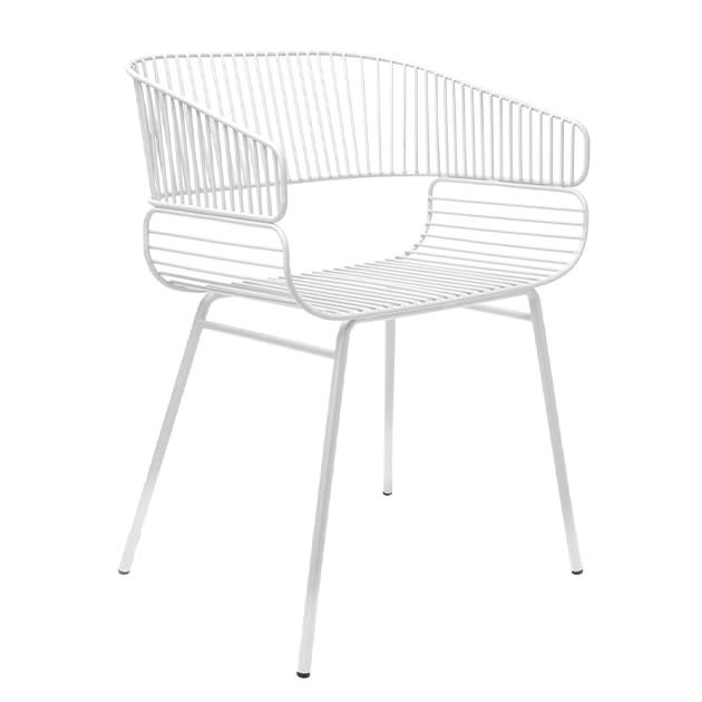 Trame Stuhl – aus geschweißten Gitterstücken