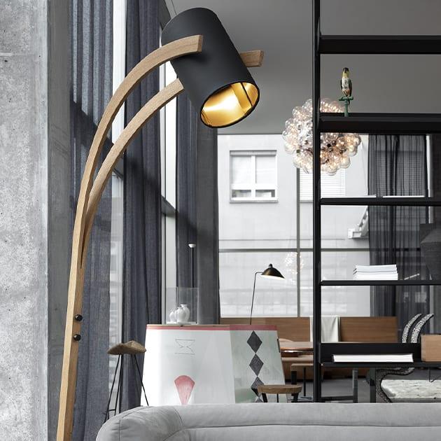 Milano Designer Stehleuchte von David Concept