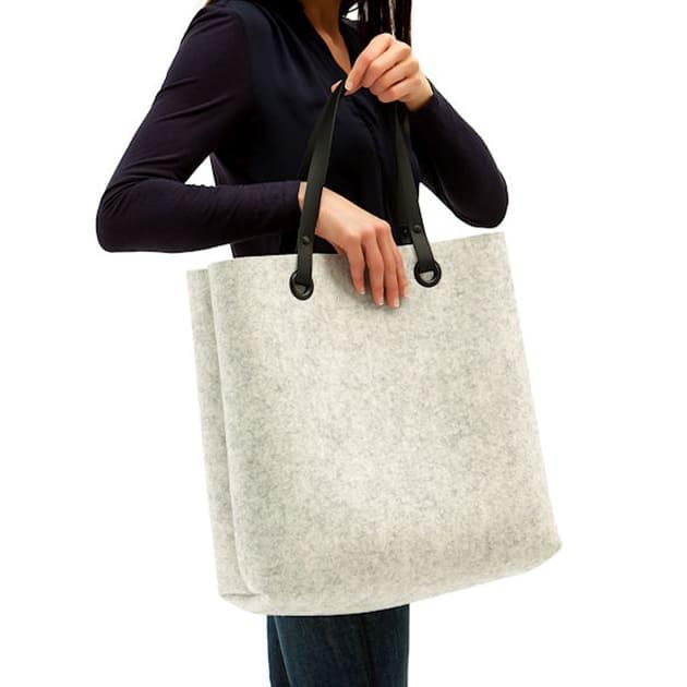 Allrounder Bag aus Schurwolle von Hey Sign