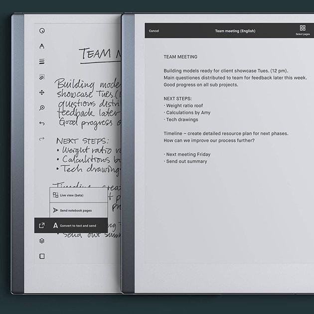 reMarkable 2 das dünnste Tablet, fühlt sich wie Papier an