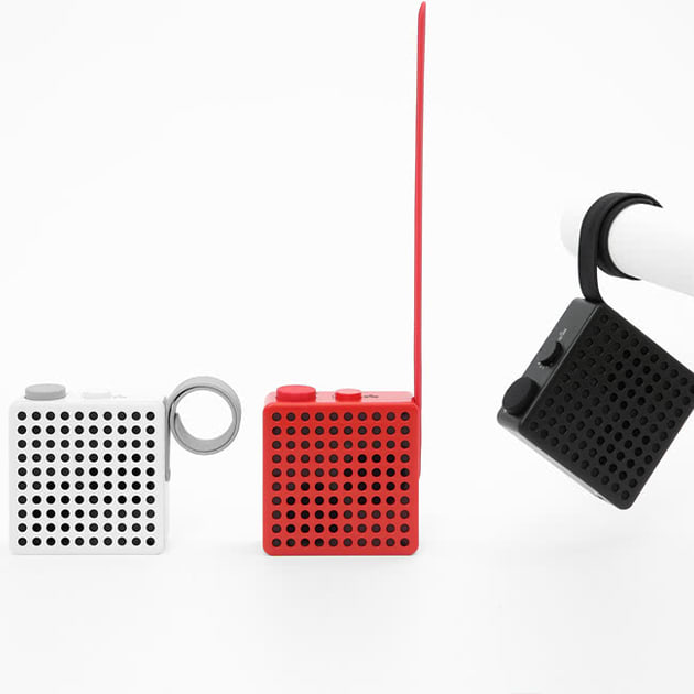 The Monkey Lautsprecher von Palomar- flexibles Miniradio