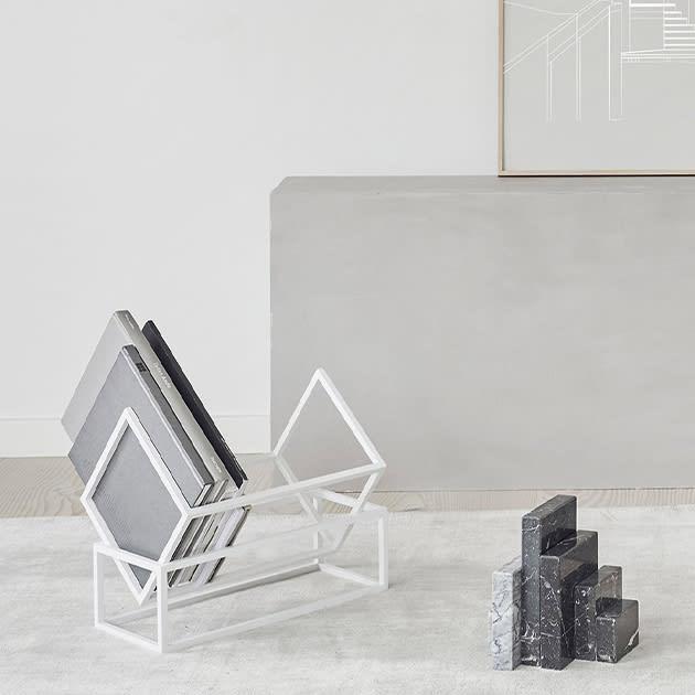Geometrischer Buchständer von Kristina Dam