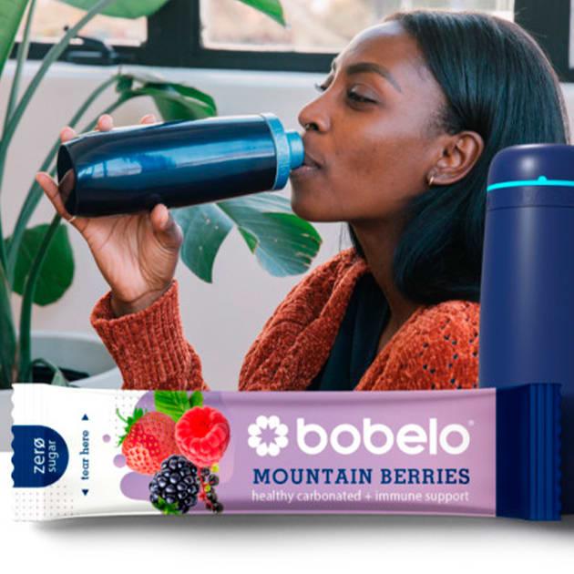 Bobelo – Pulver für Geschmack und Kohlensäure