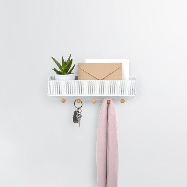 Klein und fein – Garderobe Estique von Umbra