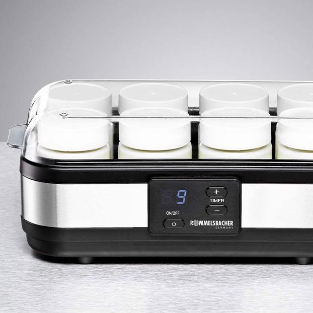 Natürlichen Joghurt selbst herstellen – Joghurtbereiter von Rommelsbacher