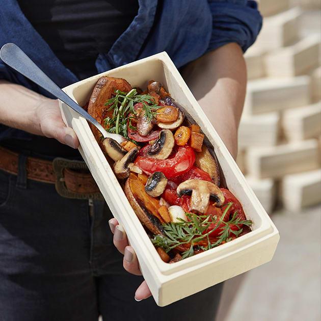 Römertopf Brick BBQ für fettarme, vitaminreiche Speisen