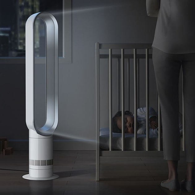 Dyson Cool AM07 Turmventilator – Energieeffizienter Ventilator mit Sleep-Timer Funktion