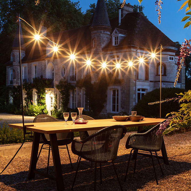 Lichtgirlande Light My Table für In-und Outdoor