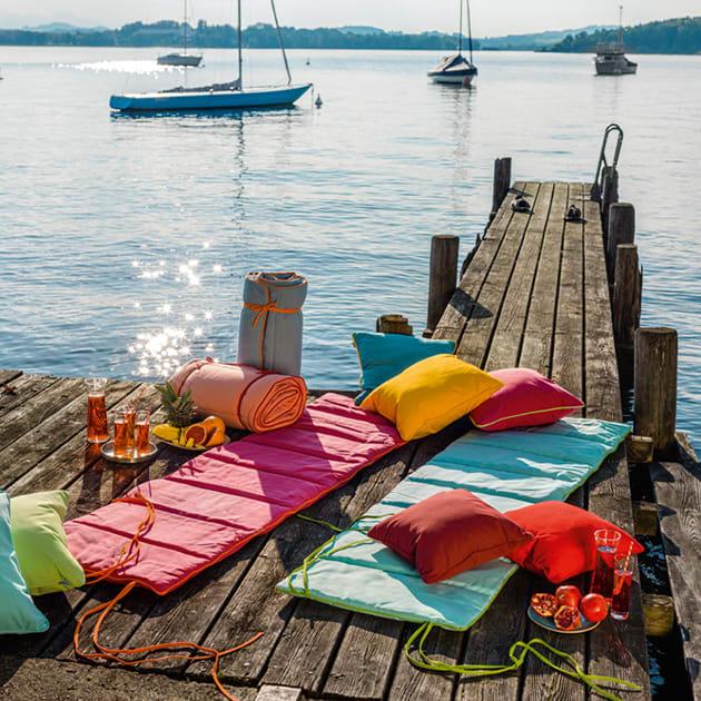 Praktische Strand und Badematte von Weishäupl