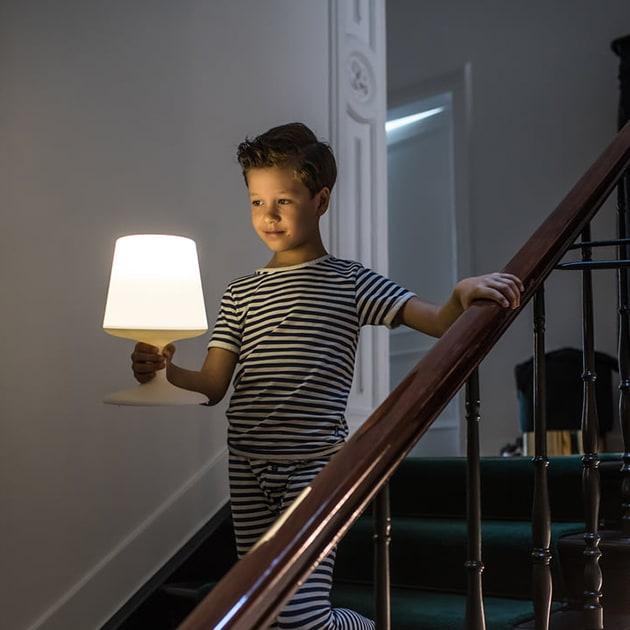 Light to go Akku-Tischleuchte von Koziol