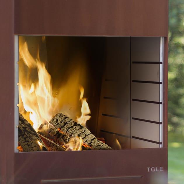 Gartenfeuer K60 von Tole mit Grillfunktion