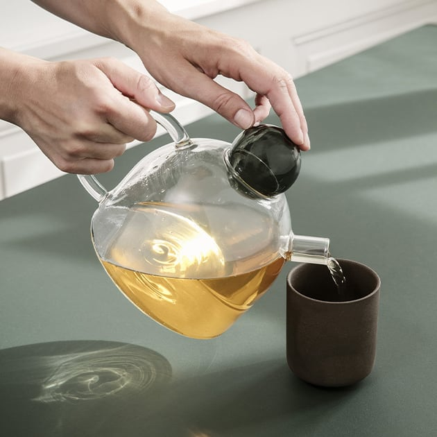 Transparente Still Teekanne von ferm living