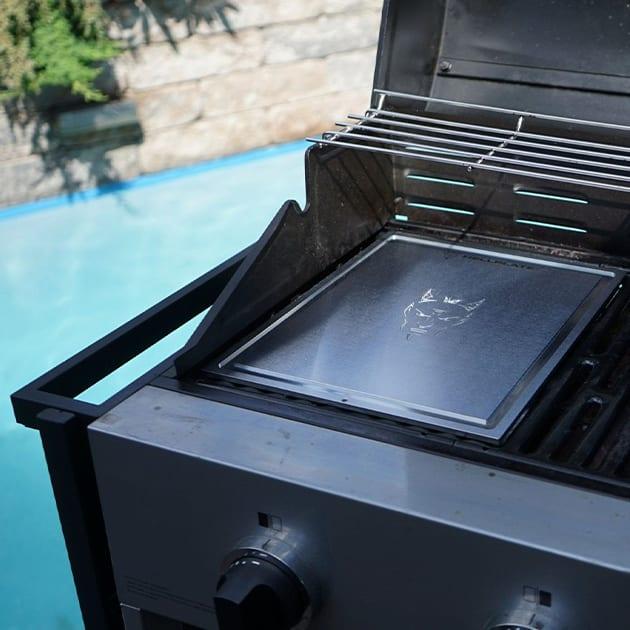 Teppanyaki Grillplatte für gleichmässige Hitzeverteilung