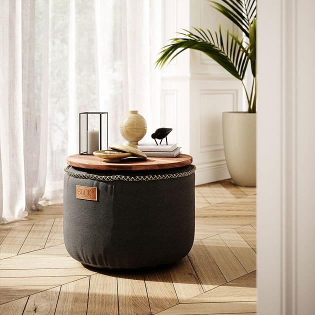 Retro it Indoor Drum – vielseitiger Sitzsack von Sack it