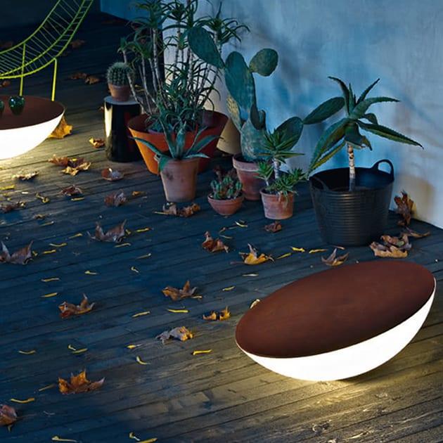 Foscarini – stimmungsvolle Solar Outdoor Bodenleuchte