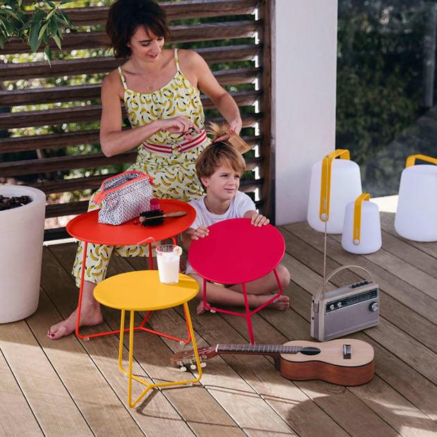 Cocotte Beistelltisch von Fermob für In- und Outdoor